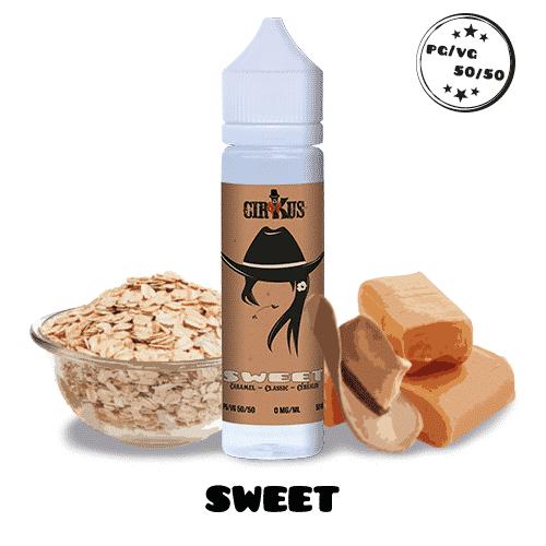 Sweet 50ml – VDLV CIRKUS tabac céréales caramel